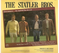 The Statler Bros. ‎– Entertainers...On And Off The Record - LP/Vinile