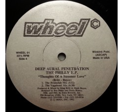 Deep Aural Penetration ‎– The Philly E.P. - Vinile