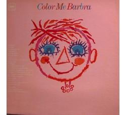 Barbra Streisand – Color Me Barbra - Vinile