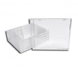 10 Pz - Vassoio CD nero per la scatola vuota del CD