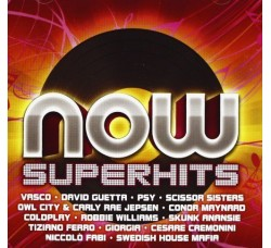 Artisti Vari - ‎ Now Superhits - Vasco Rossi - Giorgia - David Guetta - CD