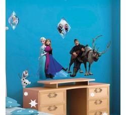 Disney Frozen  Adesivo Removibile