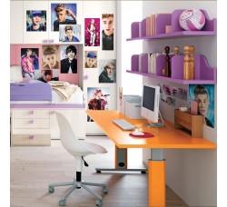 Justin Bieber - Adesivo Tessuto Riposizionabile - Mt 1 x Mt 2.10