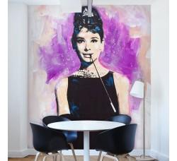 Audrey Hepburn - Fotomurale - Mt 2 x 2.54 (2 fogli)