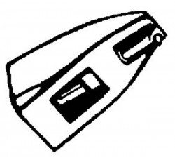 Puntina per giradischi HiFi DN 165/166 Nadel 5/10