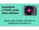 Compro dischi
