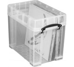 Contenitore Antiurto di Plastica per 50 Dischi Vinili LP