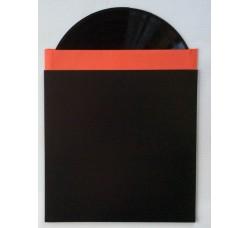 """Copertineper LP /12"""" Nera, senza foro dorso mm3 - Qtà 10"""