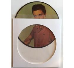 Set di Copertine per PICTURE DISC - Colore BIANCO + Buste Trasparente PE - Qtà 10