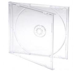 [20 Pz] Custodia Jewel Case Cristallo per 1 CD - Gr 70 *