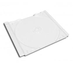 20 Pz - Vassoio CD TRASPARENTE  per la scatola vuota del CD