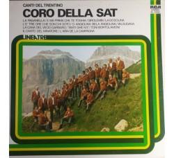 Coro Della SAT – Canti Del Trentino - LP/VINILE