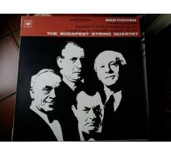 Beethoven - The Budapest String Quartet – Gli Ultimi Quartetti - Grande Fuga In Si Bemolle Maggiore, Op. 133 - Quartetto N. 16 In Fa Maggiore, Op. 135 - LP/VINILE