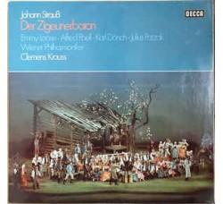 Johann Strauss Jr., Wiener Philharmoniker, Clemens Krauss, Emmy Loose, Alfred Poell, Karl Dönch, Julius Patzak – Der Zigeunerbaron - LP/VINILE