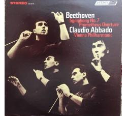 Beethoven, Claudio Abbado, Vienna Philharmonic – Symphony No 7 / Prometheus Overture - LP/VINILE