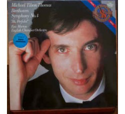 "Beethoven - Michael Tilson Thomas, Eva Marton, English Chamber Orchestra – Symphony No. 4 / ""Ah, Perfido!"" - LP/VINILE"
