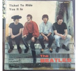 Beatles Ticket to ride  - Solo Copertina