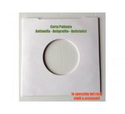 Manicotti  per dischi 45 giri - Antistatici, Antigraffio, Antimuffa - Qtà 25