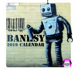 Banksy  - Calendario da collezione 2019