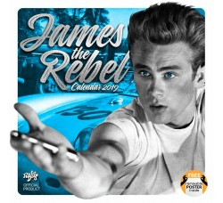 JAMES DEAN - Calendario UFFICIALE 2019 - Contiene POSTER