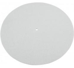 "Omnitronic  - Slipmats / Tappetino  "" Colore Bianco Antistatico""  (1-Pz)"