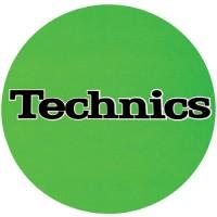 """1-TECHNICIS - Slipmats Tappetino Panno PER GIRADISCHI  """"Verde"""""""