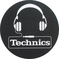 TECHNICS - Tappetino SLIPMAT per GIRADISCHI - CUFFIE - Q.ta 1°