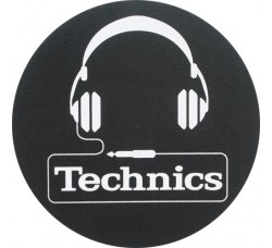 "TECHNICIS - Slipmats Tappetino Panno PER GIRADISCHI ""Headphones"""