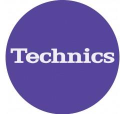 "Technics  - Slipmats / Tappetino ""PURPLE""  (Qtà 1 Tappetino)"