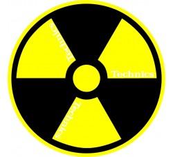 "Technics  - Slipmats / Tappetini ""RADIO""  (Qtà 1 Tappetino)"