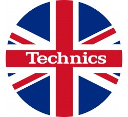 Technics - Slipmats Tappetino - Bandiera UK