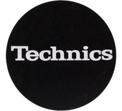 """1-TECHNICS  Slipmats Tappetino PER GIRADISCHI """"Logo Argento"""""""
