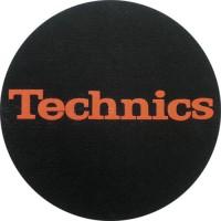 TECHNICS - Tappetino SLIPMAT per GIRADISCHI - logo ROSSO - Q.ta 1°
