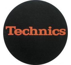 "TECHNICIS - Slipmats Tappetino Panno PER GIRADISCHI ""logo Rosso"""