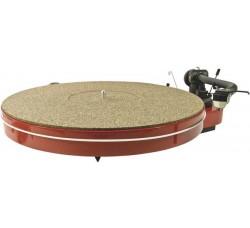 Slipmat / Tappetino per piatto del  Giradischi  in Gomma/Sughero  mm 3,0