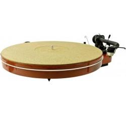 Slipmat / Tappetino in Puro Sughero per giradischi mm 2,5