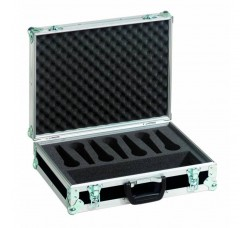 Flight Case per 7 microfoni - Roadinger 30109900