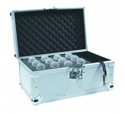Flight Case Road 12 Microfoni Argrnto -  Roadinger 30109894