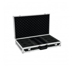 Flight Case per 12  microfoni - Roadinger 3010989A