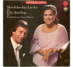 Mendelssohn* - Elly Ameling, Rudolf Jansen - LP/Vinile