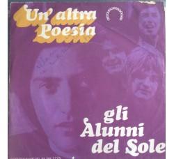 Alunni del Sole - Un altra poesia - Solo Copertina