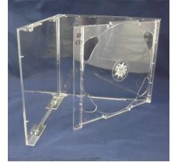 Custodia Jewel Case per 2 CD Trasparente
