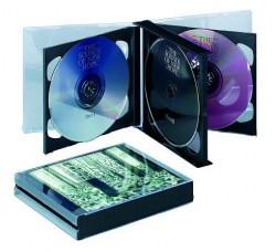 Box Jewel Case  per 6 CD a bandiera