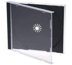 [20 Pz] Custodia Jewel case Standard per 1 CD - Gr 50