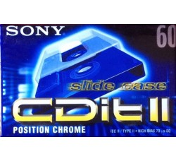 Sony - Musicassetta Min 60 Crome  - 1 Pz
