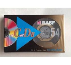 BASF   - AudioCassette Position CROME  - Minuti 54 - Qtà 1