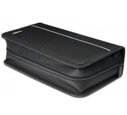 Borsa nylon colore Nero per 96 Cd/DVD -AL-11