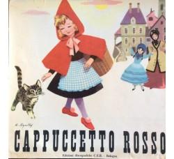 Cappuccetto Rosso disegnatore  R. Squiliy  -  Solo Copertina