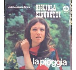 Gigliola Cinquetti - La pioggia - Solo Copertina