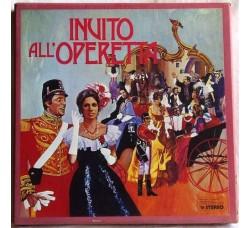 Artisti Vari  Invito all'operetta - Cofanetto vuoto per LP *